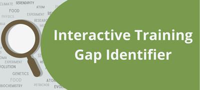 Interactive Training Gap Identifier Tool