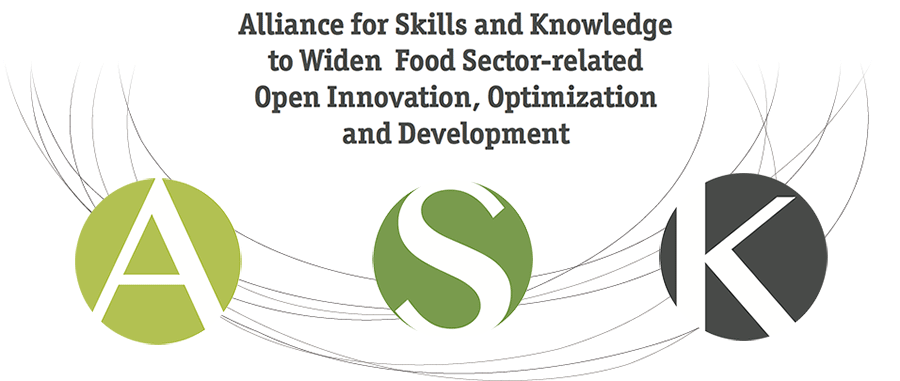 Alliance for Skills and Knoledge to Widen Food Sector-related Open Innovation, Optimization and Development