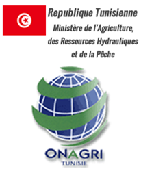 Logo ONAGRI, Ministry of Agriculture, Tunisia