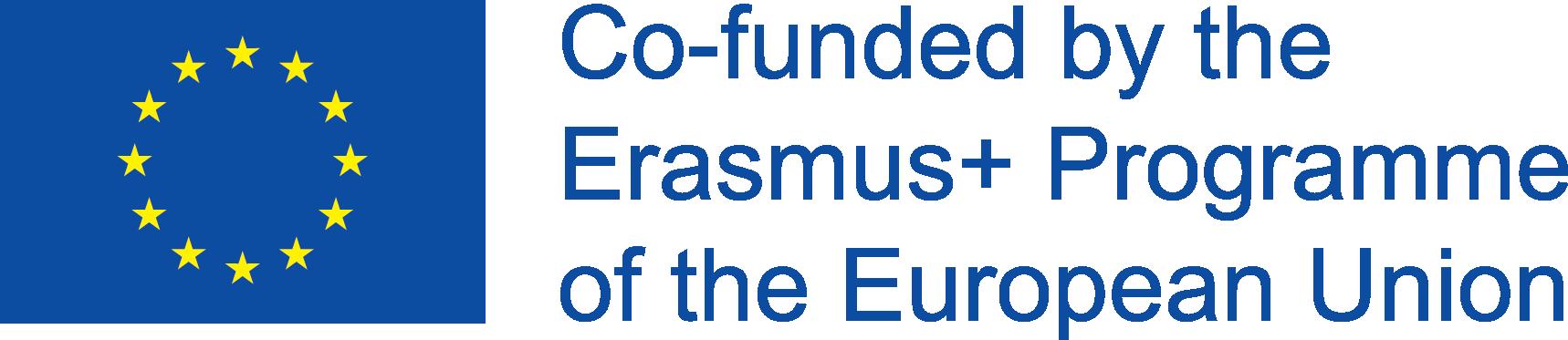 Znalezione obrazy dla zapytania logo erasmus plus co funded by